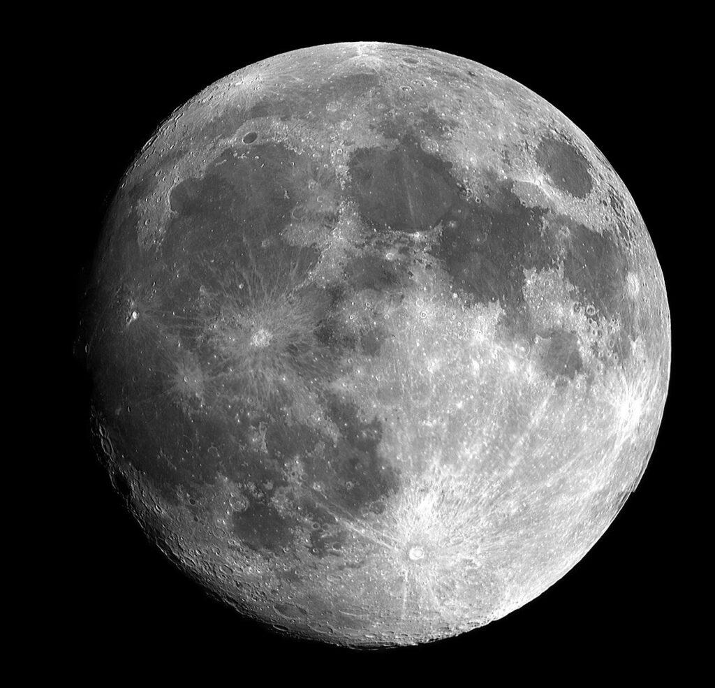 full moon, moon, bright
