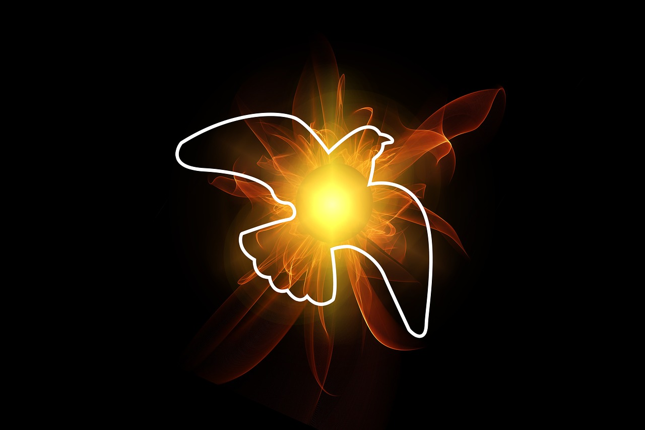 pentecost, dove, holy spirit
